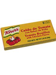 Knorr Tomato/Chicken Flavored Boullion (Pack of 3)