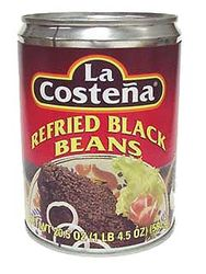 La Costena Refried Black Beans (Pack of 3)