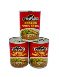 La Costena Refried Pinto Beans (Pack of 3)