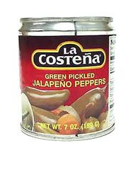 La Costena Whole Jalapeno Peppers (Pack of 3)