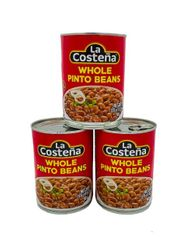 La Costena Whole Pinto Beans (Pack of 3)