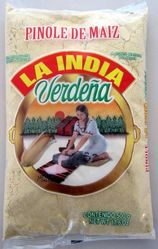 La India Verdena Pinole de Maiz 100% Natural - Toasted Corn Pinole 100% Natural