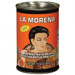 La Morena Bayo Beans Refried (Pack of 3)