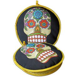 Day of the Dead Tortilla Warmer
