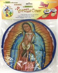 La Tortilla Oven Our Lady of Guadalupe Tortilla Warmer