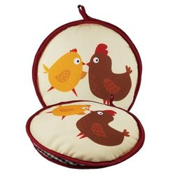 Pollitos - La Tortilla Oven Fabric Tortilla Warmer 2 Chicks - 1 unit