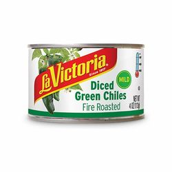 La Victoria Diced Green Chiles Fire Roasted - Mild
