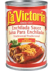 La Victoria Red Traditional - Enchilada Sauce Hot (Pack of 3)