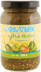 Lol Tun Mayan Green Taco Sauce with Habanero