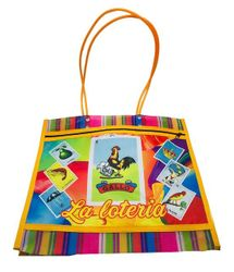 "Loteria Mexican Grocery Mesh Bag 15"" Large"