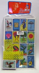 Loteria Mexicana 10 tablas - Mexican Bingo Game - 10 playing cards