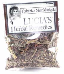 Lucia's Herbal Remedies Yerbaniz / Mint Marigold