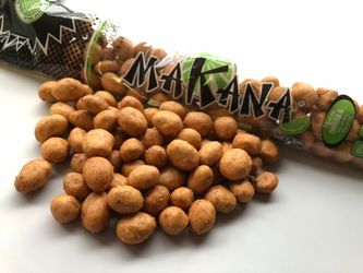 Japanese Peanuts Dry Roasted with Lime 3.7 oz by Makana