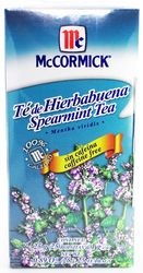 McCormick Spearmint Tea Caffeine Free (0.89 Oz.)
