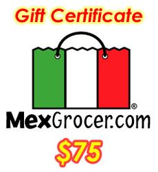 MexGrocer.com $75 Gift Certificate