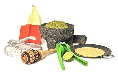 Mexican Cooking Utensils Deluxe Gift Set