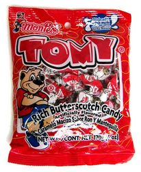 Montes Tomy Rich Butterscotch Hard Candy