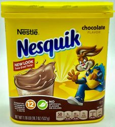 Nestle Nesquik Chocolate Flavor NEW LOOK