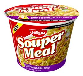 Nissin Souper Meal Chili Picante Chicken Lime Flavor (Pack of 2)