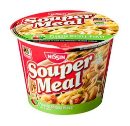 Nissin Souper Meal Picante Shrimp Hot & Spicy Flavor (Pack of 2)
