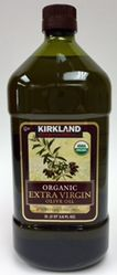 Organic Extra Virgin Olive Oil by Kirkland Signature