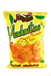 Platanitos Sweet Plantain Chips Maduritos (Pack of 3)