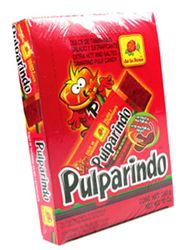 Pulparindo Extra Hot and Salted Tamarind Pulp Candy