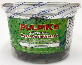 PULPIKA Nopal Deshidratado con Chile - Cactus with Chili