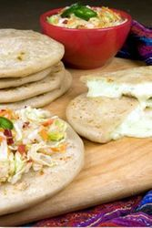 Pupusas Cheese & Bell Pepper Vegetarian by Del Real