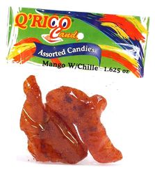 Que Rico Candy Mango with Chile (Pack of 10)