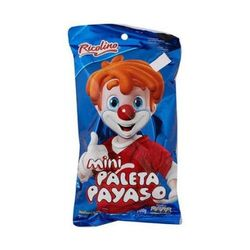 Ricolino Mini Paleta Payaso 4 pieces (Pack of 3)