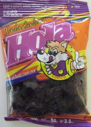 Salado Agridulce - Saladulces HOLA Lobito - Sweet and Sour Flavored Salted Plums - 3.5 oz