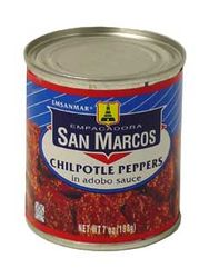 San Marcos Chipotle Peppers in Adobo Sauce (Pack of 3)