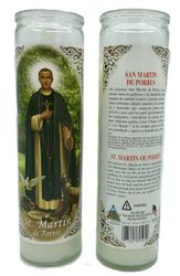 San Martin de Porres Candle (Pack of 6)