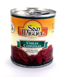 San Miguel Chiles Chipotles (Pack of 3)