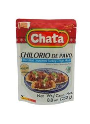 Seasoned Shredded Turkey Chilorio in Pouch