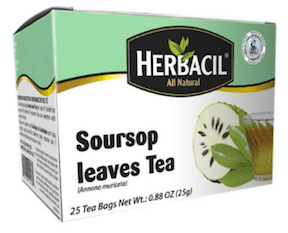 Soursop Leaves Tea Hojas de Guanabana by Herbacil