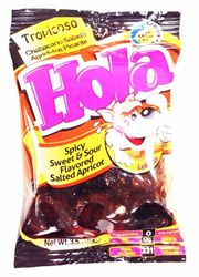 Spicy Sweet & Sour - Saladulces HOLA Lobito - Salted Apricots