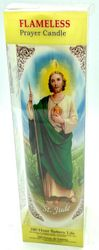St Jude Battery Candle