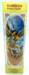 St Michael Archangel Battery Candle