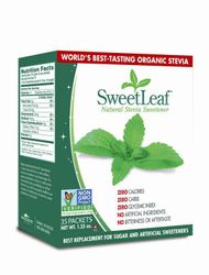 Stevia Sweetener a SweetLeaf product by Wisdom Natural Brands