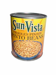 Sun Vista Frijoles Pintos - Pinto Beans with Garlic