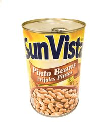 Sun Vista Pinto Beans with Garlic (Pack of 3)