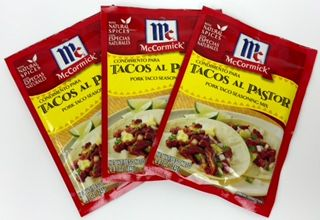 Tacos al Pastor Seasoning Mix by McCormick (Pack of 3) - 0 87 oz0 87 oz