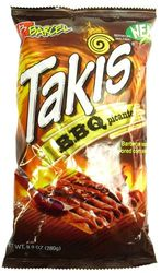 Takis BBQ Picante (Pack of 3)