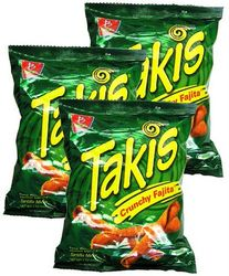Takis Crunchy Fajita Taco by Barcel (Pack of 5)