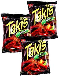 Takis Nitro Habanero & Lime by Barcel  (Pack of 5)