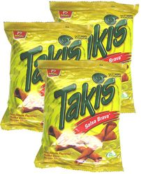Takis Salsa Brava Hot Sauce by Barcel (Pack of 5)