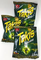 Takis Zombie Habanero & Cucumber Tortilla Chips (Pack of 5)