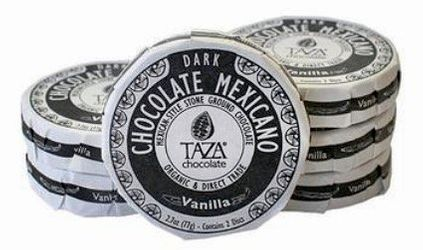 Taza Chocolate Mexicano Dark Vanilla Organic